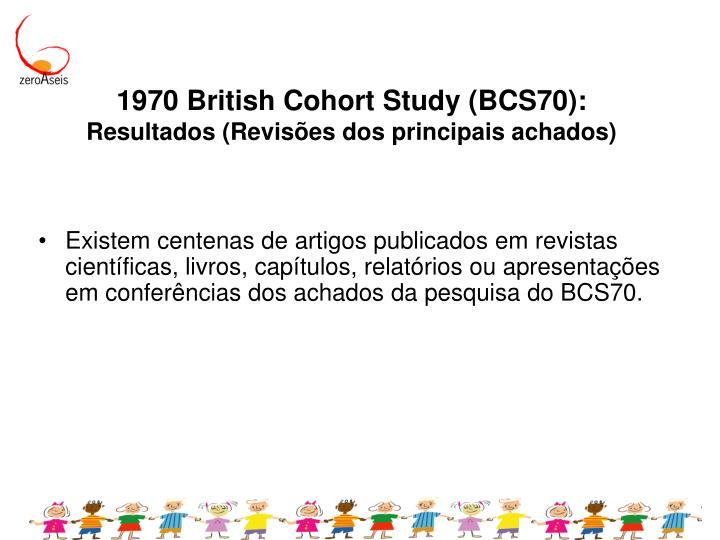 1970 British Cohort Study (BCS70):