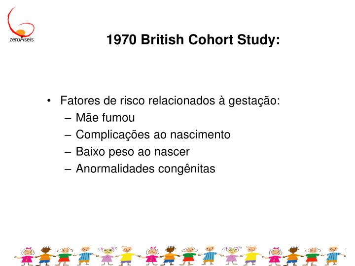 1970 British Cohort Study: