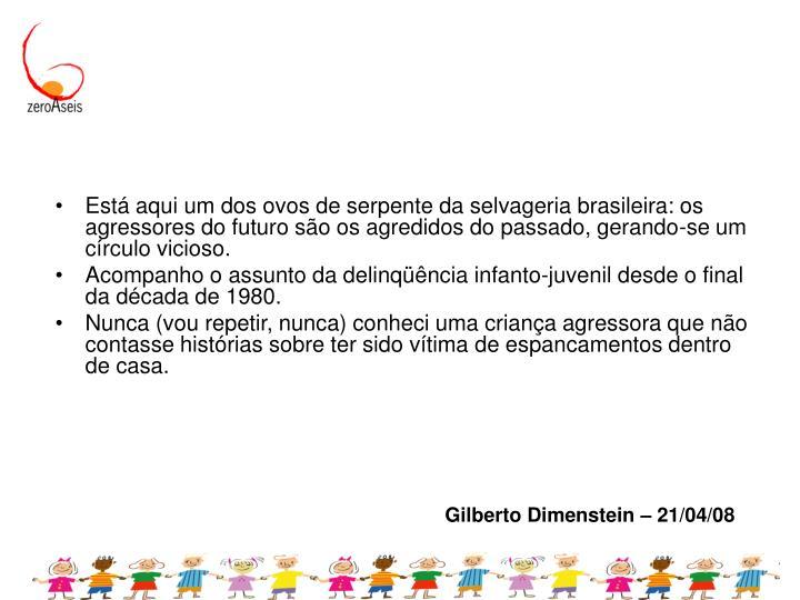 Gilberto Dimenstein – 21/04/08