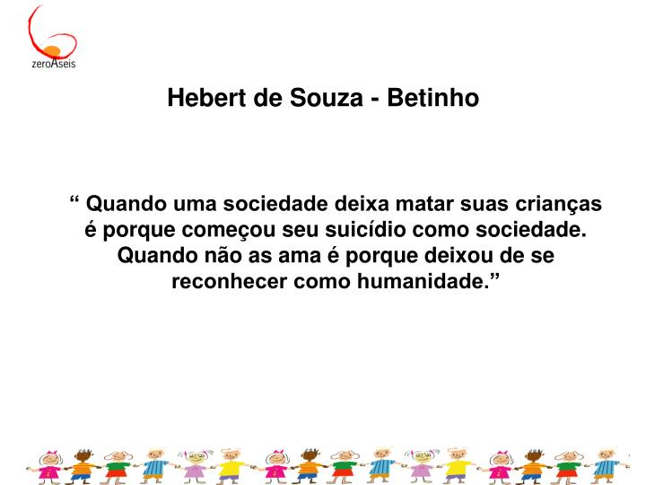 Hebert de Souza - Betinho