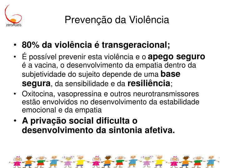 Prevenção da Violência