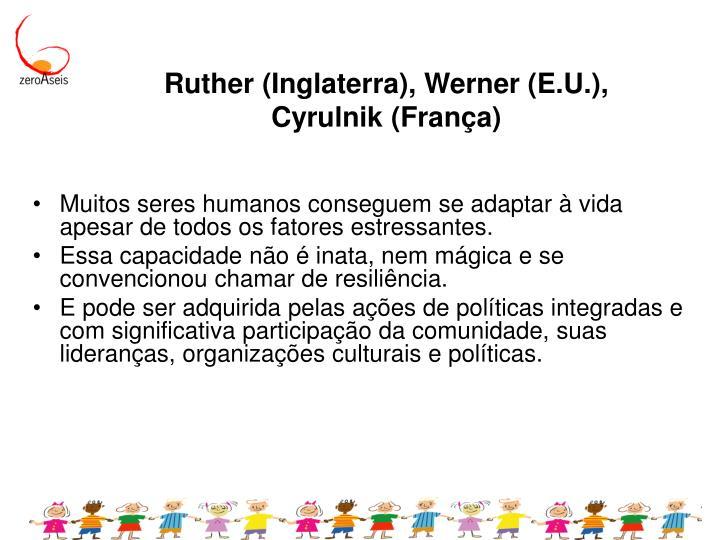 Ruther (Inglaterra), Werner (E.U.),