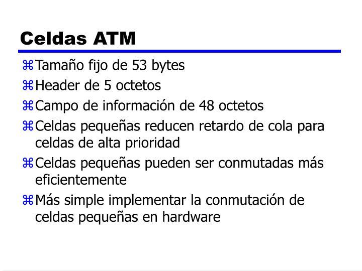Celdas ATM