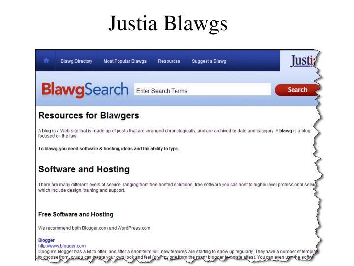 Justia Blawgs
