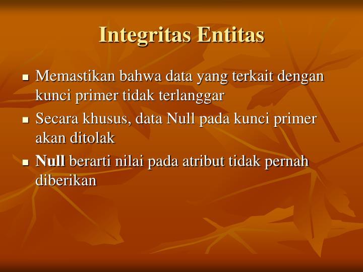 Integritas Entitas