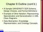 chapter 8 outline cont d