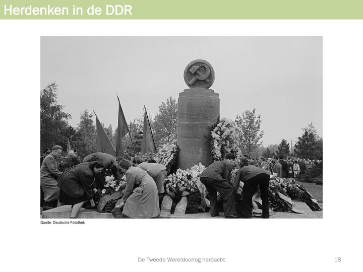 Herdenken in de DDR