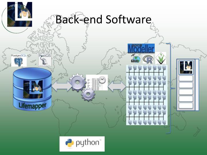 Back-end Software