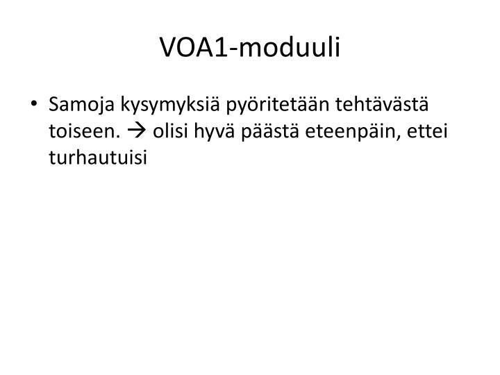 VOA1-moduuli