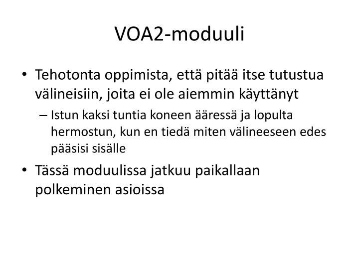 VOA2-moduuli