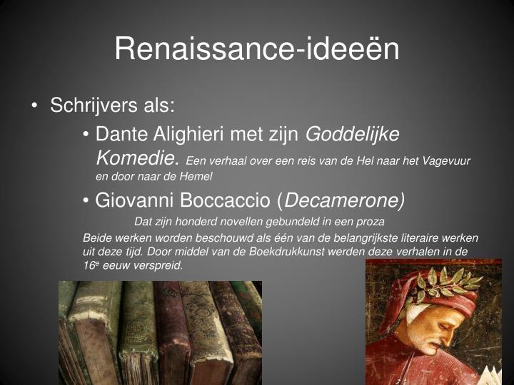 Renaissance-ideeën
