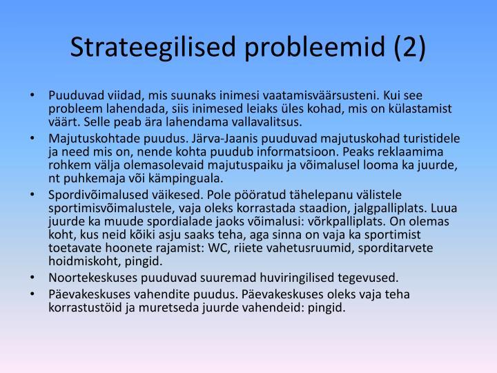 Strateegilised probleemid (2)