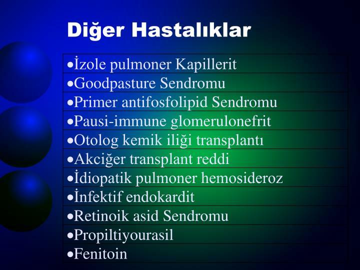 Diğer Hastalıklar