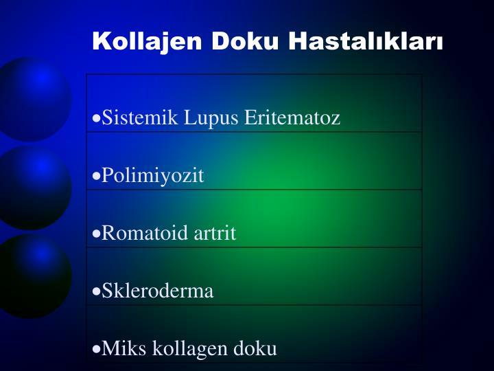 Kollajen Doku Hastalıkları