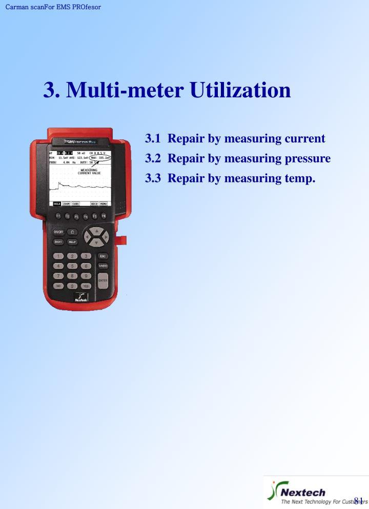 3. Multi-meter Utilization