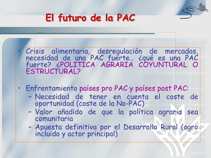 El futuro de la PAC