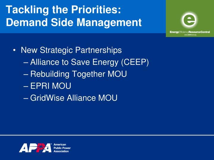 New Strategic Partnerships