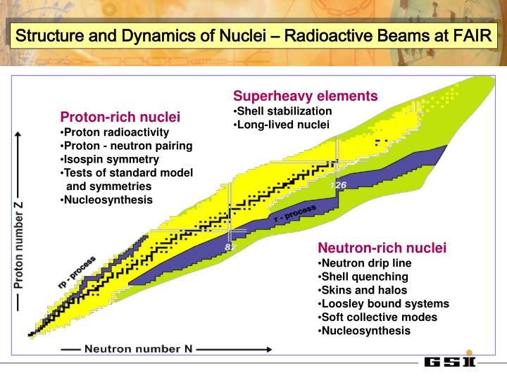 Structure and Dynamics of Nuclei – Radioactive Beams at FAIR