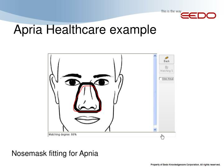 Apria Healthcare example