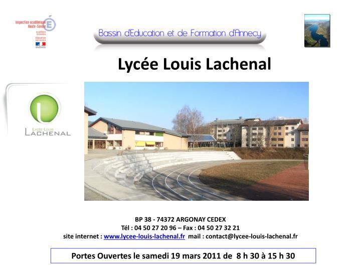 Lycée Louis