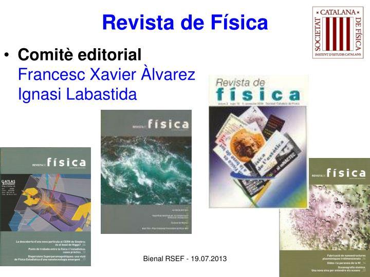 Revista de Física
