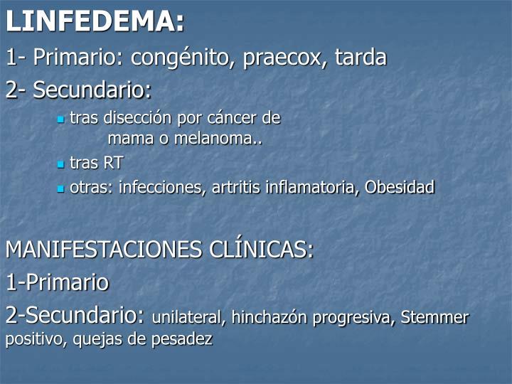 LINFEDEMA: