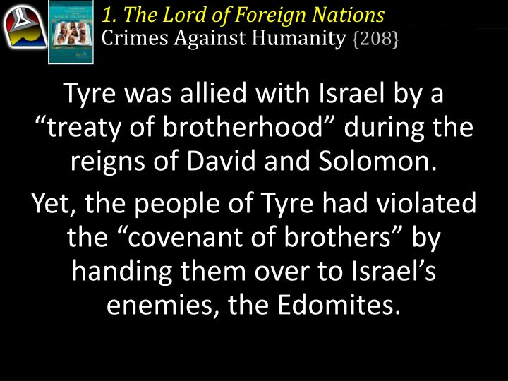 1. The Lord of Foreign Nations