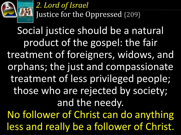 2. Lord of Israel