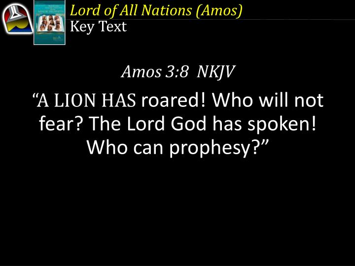 Lord of All Nations (Amos)