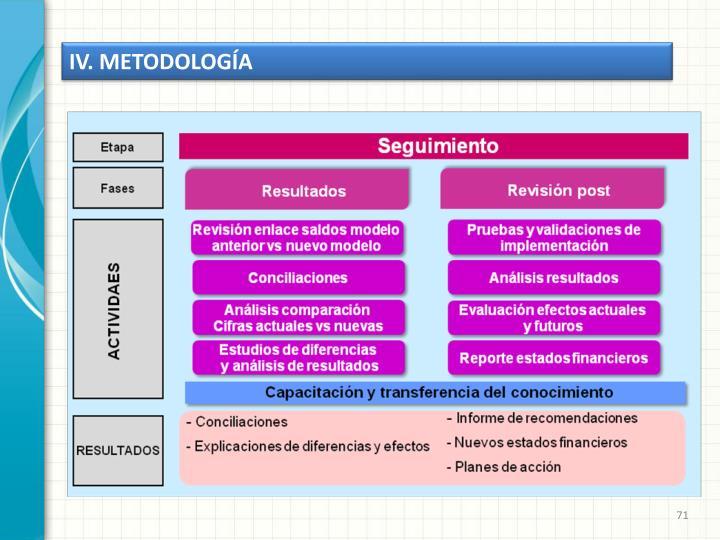 IV. METODOLOGÍA