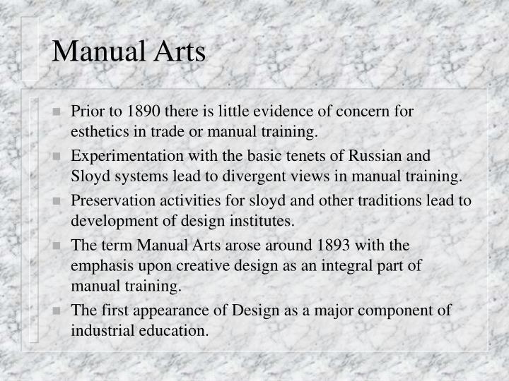 Manual Arts