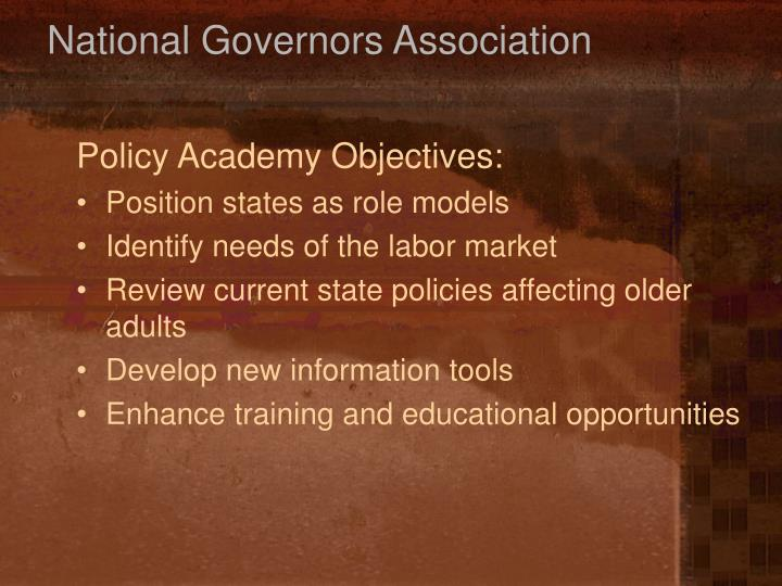 National Governors Association