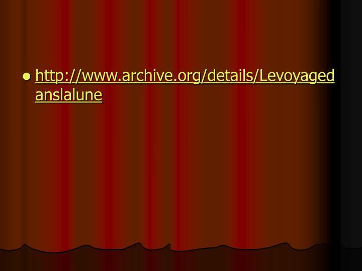 http://www.archive.org/details/Levoyagedanslalune
