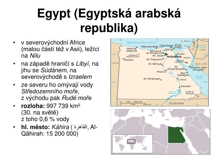 Egypt egyptsk arabsk republika