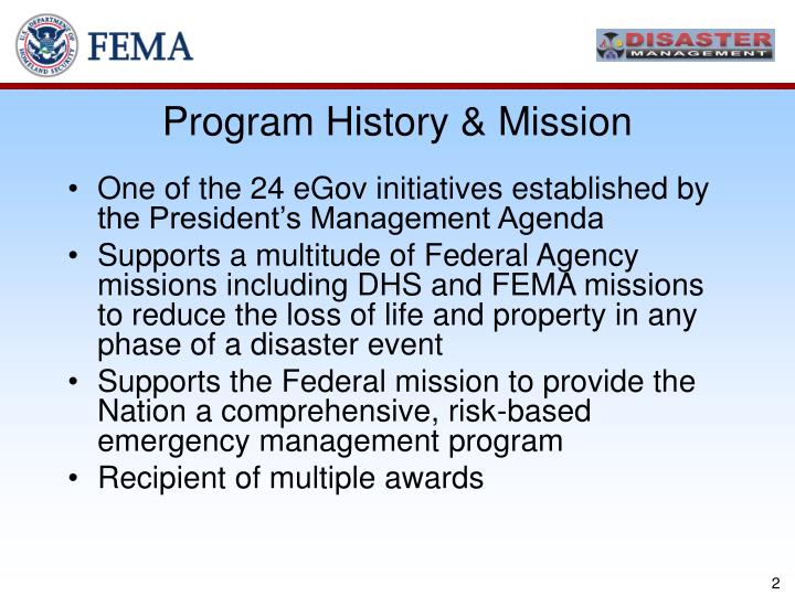 Program History & Mission