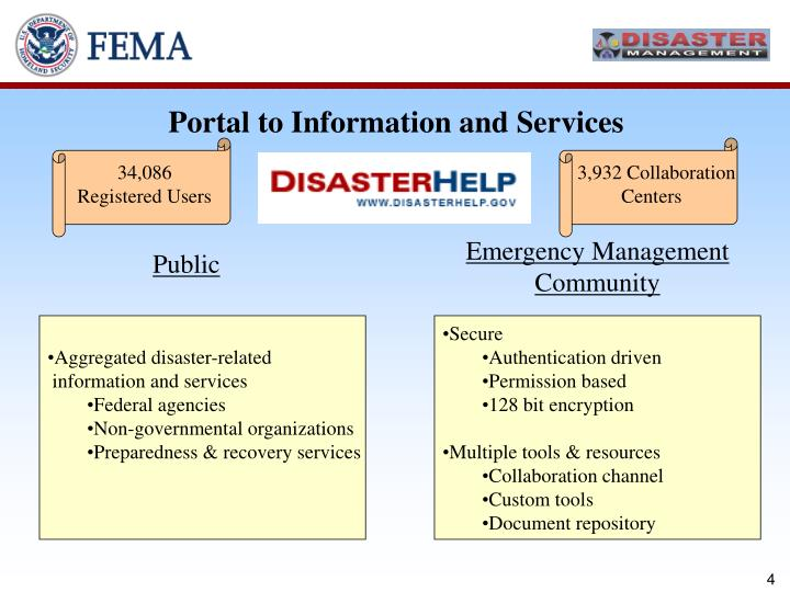 Portal to Information and Services