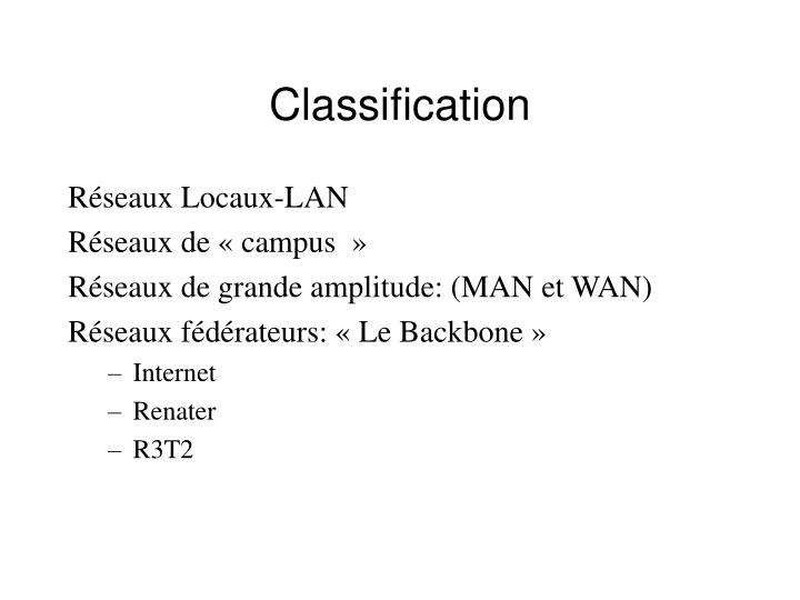 Réseaux Locaux-LAN