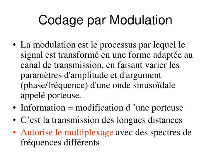Codage par Modulation