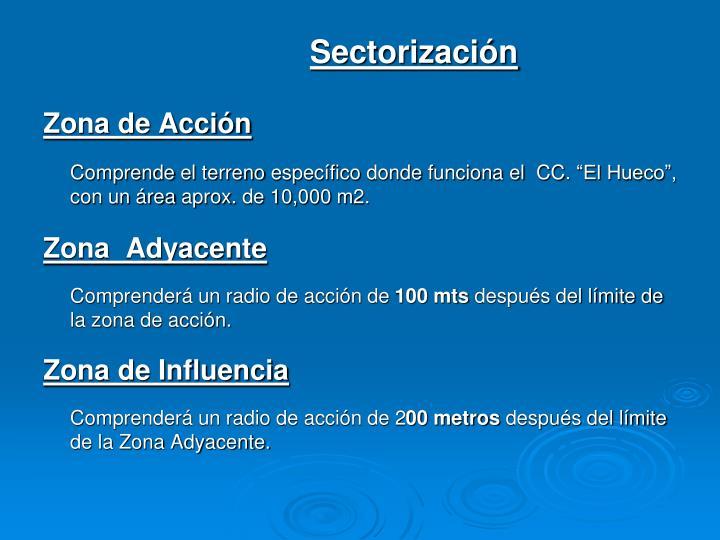 Sectorización