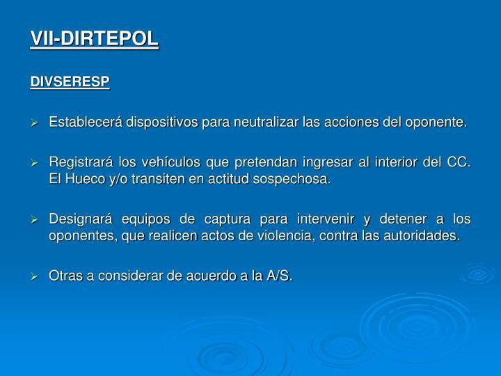 VII-DIRTEPOL