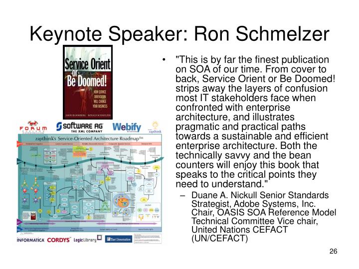 Keynote Speaker: Ron Schmelzer