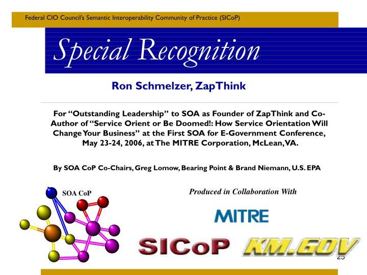 Ron Schmelzer, ZapThink