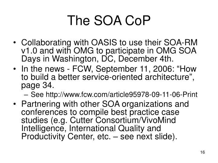 The SOA CoP
