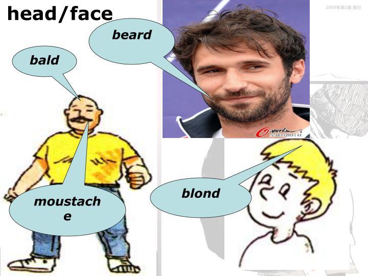 head/face