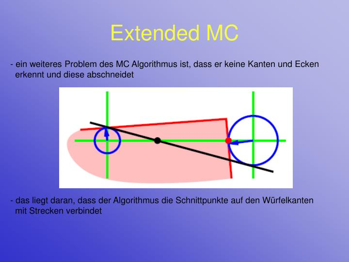 Extended MC