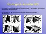 topologisch korrekter mc20