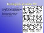 topologisch korrekter mc21