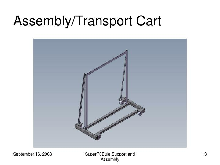 Assembly/Transport Cart