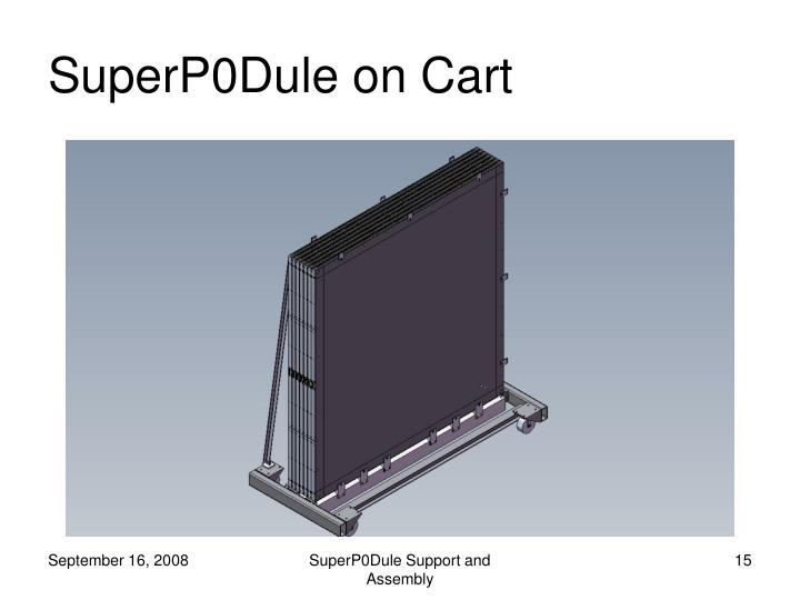 SuperP0Dule on Cart