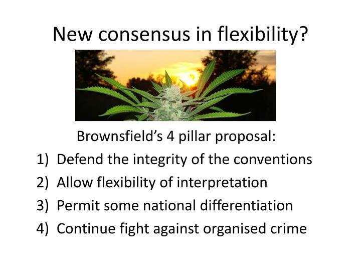 New consensus in flexibility?